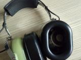 航空专用真皮海绵耳机套 高周波吸塑成型TPU皮硅油皮耳套