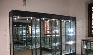 钛合金精品展示柜产品柜公司样品柜药品柜礼品首饰柜台