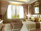 天津家庭窗帘设计 家庭布艺窗帘定做 别墅电动窗帘定制