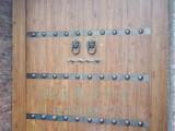 铜钉大门设计 仿古大门价格 铜钉大门厂家 西安定制铜钉大门