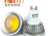海利新LEDcob灯杯 4W  高亮节能 宽电压特价批发