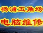 上海杨浦五角场电脑上门diy装机硬盘U盘数据恢复维修网络布线