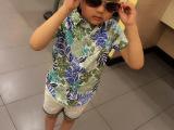 2015 夏季新品童装衬衫儿童时尚短袖男童衬衣 品牌直批