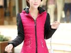 2014冬季新款韩版修身加厚短款棉衣女时尚保暖加大码棉服棉袄批发