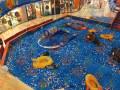 浙江杭州魔幻积木乐园百万海洋球池超级EPP积木城堡