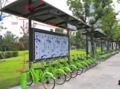 自行车棚公司哪里有 泰安学校自行车棚