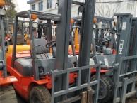 低价出售3吨合力叉车,三节门架4.5米举高,手动挡叉车特价