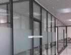 玻璃门玻璃隔断定制 不锈钢门 推拉门 钢化玻璃安装