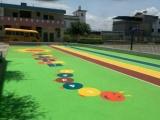 朝阳幼儿园塑胶跑道 专业的幼儿园塑胶跑道施工哪里有