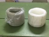 白色塑料PP焊条pp三角焊条PP仿进口焊条PP盘圈焊条