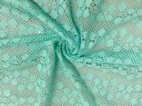 T-036 圆点提花色织网布 新款时尚女装布 菱形圆点提花网眼布