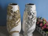 创意陶瓷 工艺品花瓶摆件 商务礼品 婚庆