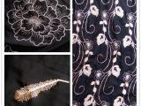 现货雪纺面料复古印花柔滑透气防水涤纶布料