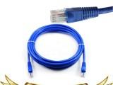 (厂家直销)5米成型网线 成品网络线 原装注塑网线机器压制跳线