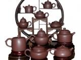 经典清代五绝紫砂茶具套组 大师手工制作升值潜力巨大