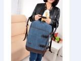 一件代发一件代发热销纯棉帆布双肩背包旅行包电脑双肩背包手提包