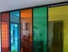 咸阳玻璃隔断效果图-办公室玻璃隔断产品图片与介绍