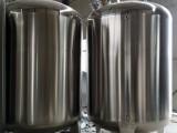 二手304不锈钢储罐不锈钢搅拌罐立式卧式储水罐大型碳钢储罐