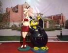 宁波卡通模型出售疯狂动物城卡通模型雕塑