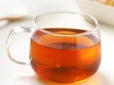 人工吹制耐热玻璃绿茶杯办公水杯 透明耐热带把单层玻璃咖啡杯