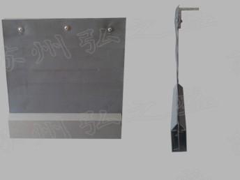 富阳灰色挡烟垂壁防火布厂家直销