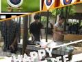 毕业酒会一条龙服务酒宴 摄像 采摘 烧烤 篝火晚会