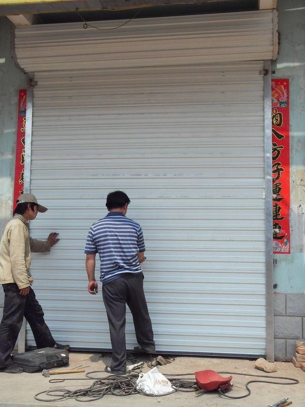 石景山区安装电动卷帘门安装步骤