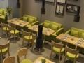 咖啡厅西餐厅酒店桌椅沙发批发定做厂家直营餐饮家具