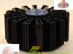60W ZR LED工矿灯散热器 纳米涂