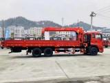 东风天龙康明斯270马力三一12吨吊机