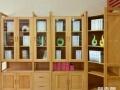 隔空多门窗书柜 玉林美式家具 崇左红木家具