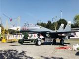 济南景区装饰仿真军事飞机模型出租