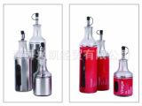 不锈钢套皮玻璃油瓶/酱油瓶/醋瓶/花生油瓶/定制油瓶