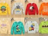 春季新款韩版童装字母儿童卫衣中小童长袖卫衣宽松圆领童卫衣