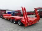 低平板 勾机板半挂车 挖掘机运输车 拖板1年1万公里6万