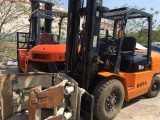 二手杭州3.5吨4米叉车
