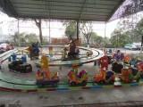 单轨双轨立环跑车 广场公园小型儿童过山车 创艺游乐