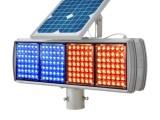 交通警示灯爆闪灯 施工灯 红慢灯 太阳能黄闪灯 黄闪红信号灯