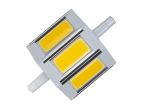 COB大功率LED贴片R7S节能灯6W泛光灯替代飞利浦 60W卤素灯