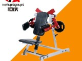吉林白山商用健身设备健身房力量器械分动式肩部训练器材