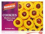 进口曲奇饼干 泰国 素玛哥蓝莓果酱曲奇饼干