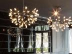 铭星灯饰萤火虫多头雪片吊灯北欧性餐厅卧室树枝亚克力灯