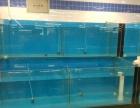 批发安装 海鲜鱼缸 制冷机 定做各种酒店鱼缸