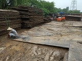 德州钢板出租 工地用作便道 临时道路推行