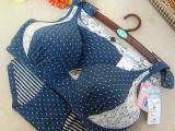 厂家直销批发外贸原单内衣 14新款纯棉文胸内衣套装