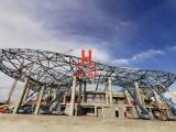 沧州纵合钢构管桁架加工生产基地