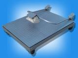 硕衡移动电子磅称1吨,2吨电子磅称带轮子可移动式磅秤