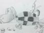 3-4岁爱艺术小小素描课程 素描基础课程 上海东方童画