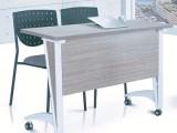 简易折叠桌培训会议办公电脑桌五金钢脚家用活动桌学习桌台架