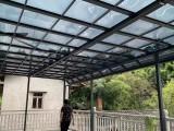 專業雨棚安裝定制,別墅遮陽棚定制,停車棚